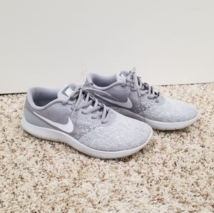 Nike Flex Contact Sneakers - Grey & White